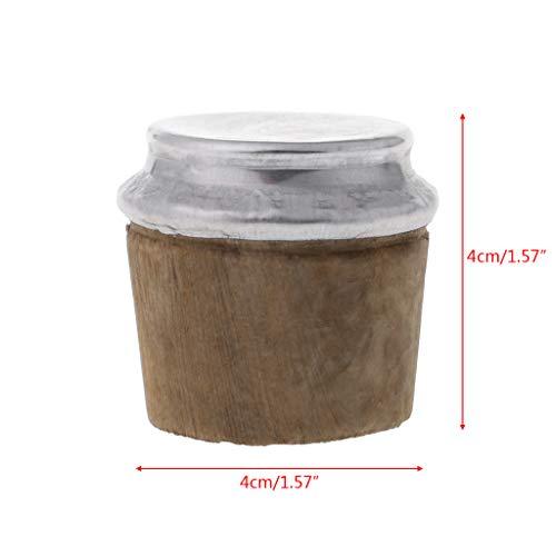 ZOOMY Thermos Plug Cap Stopper Unteren Durchmesser Holz Flasche Korkdeckel Ersatzkessel Teile