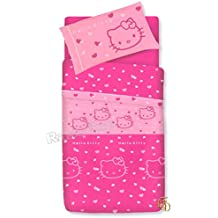 Lenzuola Di Hello Kitty.Amazon It Lenzuola Hello Kitty Rosa