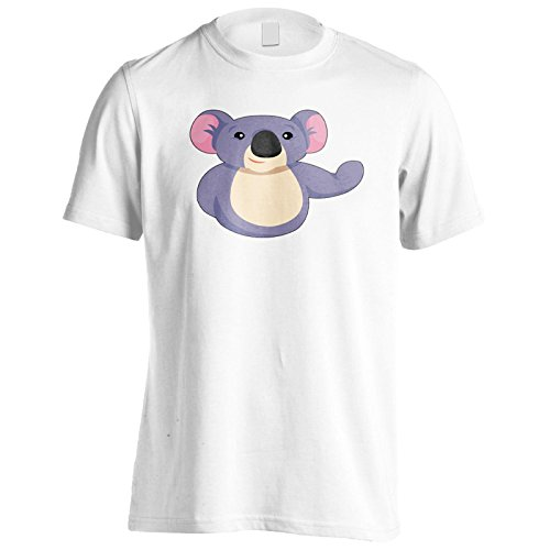 Sorriso Felice Di Panda Animal Uomo T-shirt o286m White