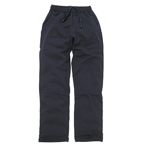 Pantalon de sport bleu foncé d'Ahorn en grandes tailles jusqu'à 10 XL, Taille:10XL