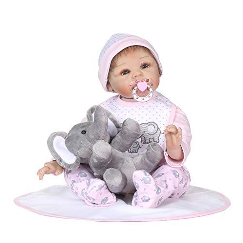 Runrain - Manta de silicona para bebé recién nacido, 22 pulgadas, diseño...
