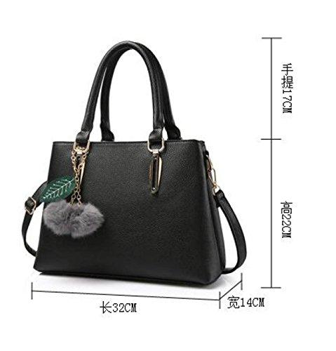 Lady Lychee Muster Schultertasche Handtasche Handtasche Atmosphäre Mode Einfache Handtasche A