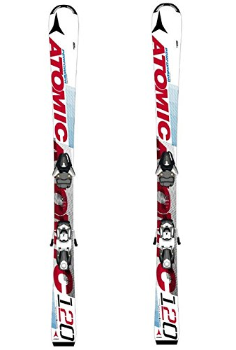 Atomic Ski RACE EX JR II white/red 80 CM NUR SKI ohne Bindung NEU