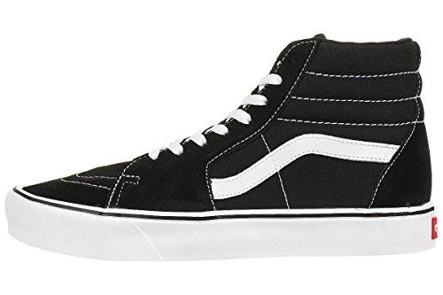 Vans Ua Sk8-Hi Lite, Sneakers Hautes Mixte Adulte, (Canvas) Black/Black Noir
