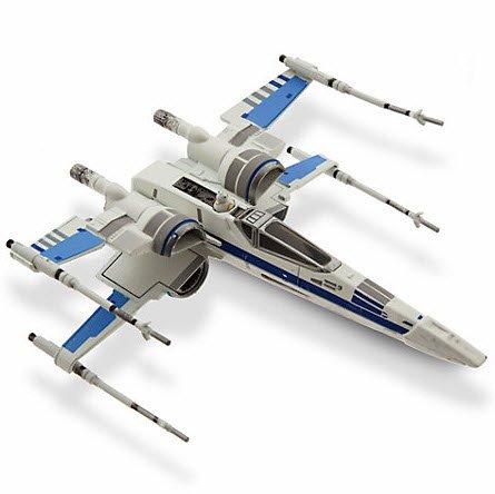 Vehículo a escala caza Ala-X Resistencia, Star Wars