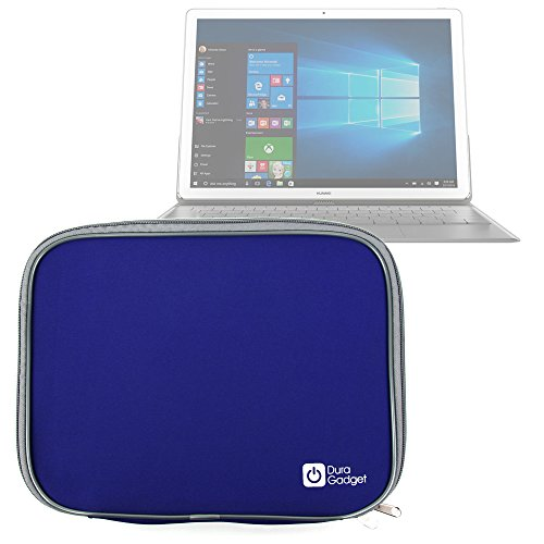 DURAGADGET Premium Quality Blue Lightweight & Shock-Absorbing Neoprene Sleeve/Case - Compatible with the NEW Huawei MateBook Tablet