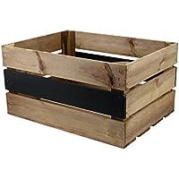 Rústico caja grande con pizarra