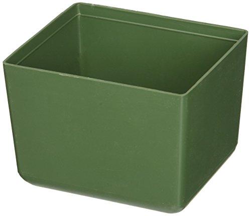 Terry Plastic V6Schalen für Kleinteile, grün, Set von 6Stück A-la-carte-schalen