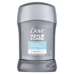 Dove Men + Care Antiperspirant Deodorant - Clean Comfort Stick (50ml)