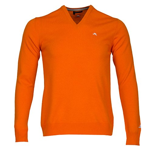 j-lindeberg-maglione-basic-maniche-lunghe-uomo-racing-orange-xx-large