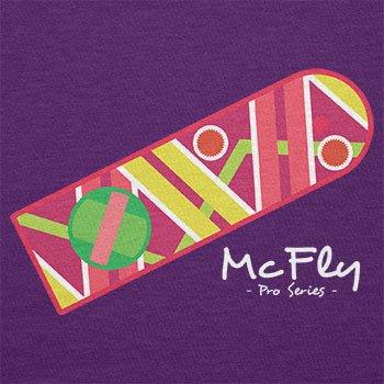 TEXLAB - McFly Pro Series Hoverboard - Herren T-Shirt Violett