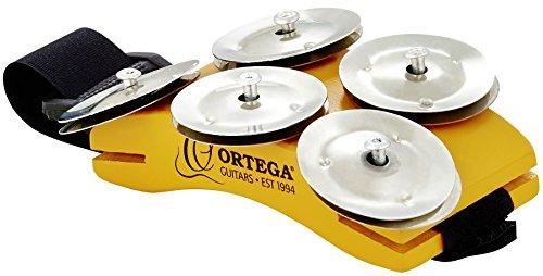 Ortega Guitars OSSFT Fußtamburin für Singer/Songwriter