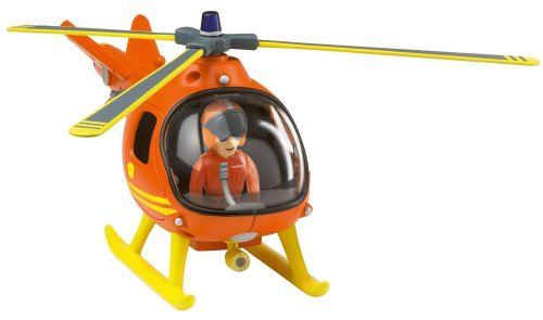 Image of Fireman Sam - Mountain Rescue Helicopter with Tom