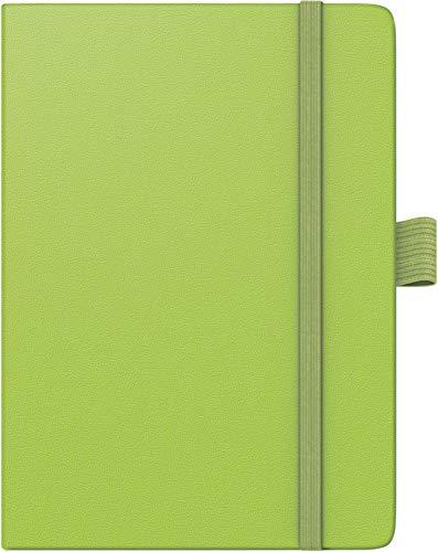 BRUNNEN 107326652 Taschenkalender Modell 732 Kompagnon (2 Seiten = 1 Woche, 10 x 14 cm, Baladek-Einband, Kalendarium für 18 Monate (Juli 2019 bis Dezember 2020)) grün Grün 14
