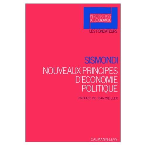 Nouveaux Principes d'économie politique. Ou de la richesse dans ses rapports avec la population
