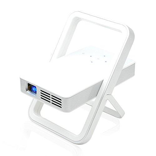 iCodis CB-200s Mobile Beamer Mobile, 100 ANSI Lumen, 20000 Stunden Lampenlebensdauer, 360° ARM, HD-Wiedergabe, 3200mAh.