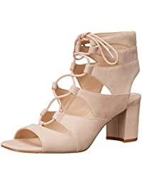 Nine West mujer takeitup Suede Heeled Sandal