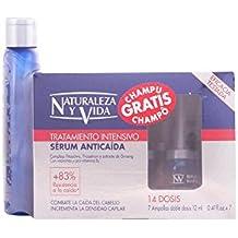 Naturaleza y Vida Serum Anticaida - Sérum anticaída del cabello, 7 frascos con 12 ml