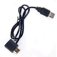 Nuevo HDMI macho a hembra adaptador enchufe con USB 2.0conector de alimentación cable