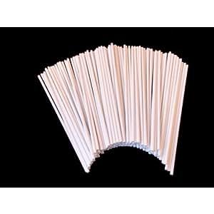 Classikool White Plastic 100mm / 4 Inch Cake Pop Sticks Pack of 50