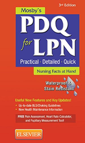 Mosbys PDQ for LPN - E-Book (English Edition) eBook: Mosby ...
