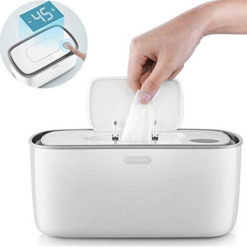 HDDD Limpie más cálido y el Titular del bebé toallitas húmedas dispensador, Baby Wipes Calentador...