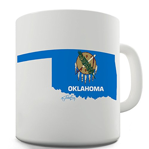 Oklahoma state Seal 50stati US simbolo tazza