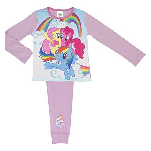 Kostüm Fluttershy Kinder - Mädchen mein kleines Pony Pyjamas - Alter 4- - 3 Ponies 9-10 Years / 134-140 cms