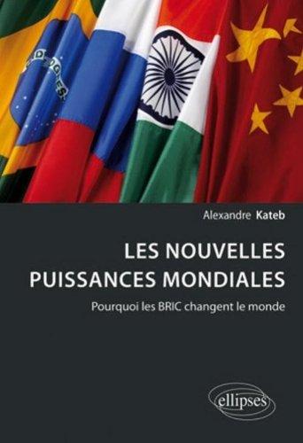 Les Nouvelles Puissances Mondiales Pourquoi les BRIC Changent le Monde