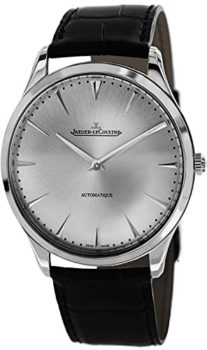 jaeger-lecoultre-mens-master-41mm-black-leather-band-steel-case-automatic-silver-tone-dial-watch-q13