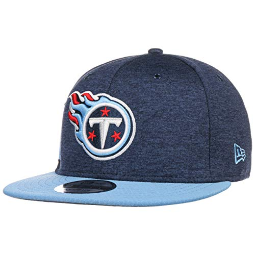 New Era NFL Tennessee Titans Authentic 2018 Sideline 9FIFTY Snapback Home Cap, Größe :M/L