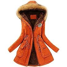 cc3c307f2a2d KIMODO Mantel Jacke Damen Herbst Winter Oversize Schwarz Warmer Pelzkragen  Kapuzenjacke Hoodie Pullover Coats Outwear Mode