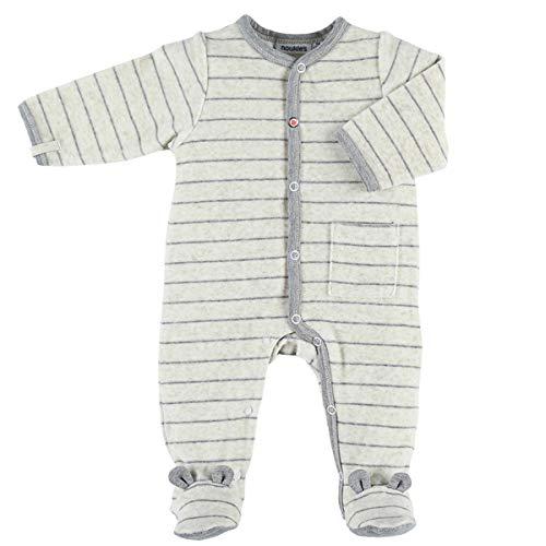 Noukie's Noukies Pyjama grenouillère en Velours Bébé Garçon Beige 18M