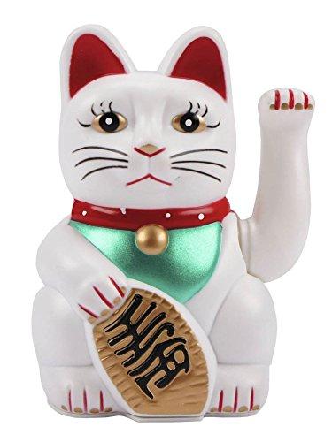 11 cm suerte gato-winkekatze Maneki Neko-Gold