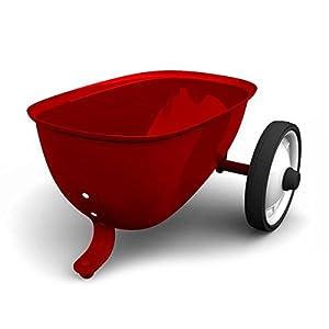 Baghera- Remolque para Rider, Color Rojo (825)