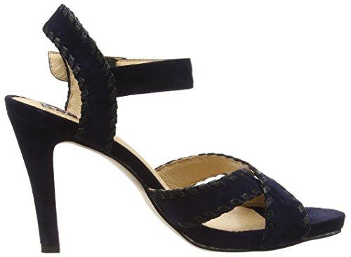 Giudecca JYCX15J23-1 Damen Offene Sandalen Blau (HD80 Dark blue)