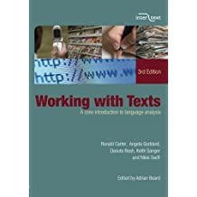 Working with Texts: A Core Introduction to Language Analysis (Inter Text)
