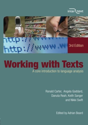 Working with Texts: A Core Introduction to Language Analysis (Intertext) por Ronald Carter