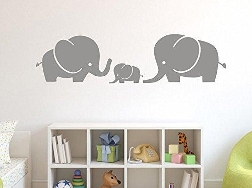 QIUNKRN Wanddekoration Kinderzimmer Elefant