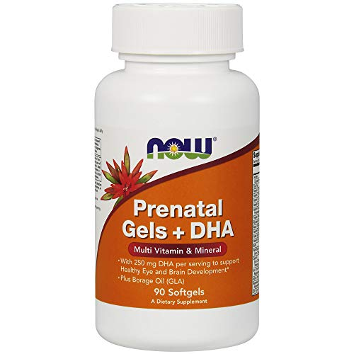 Now Foods Pre-Natal Multivitamin with DHA Softgels, 90 Count