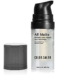 Sacelady Invisible Pore Foundation Primer All Matte Face Primer, Oil-control et Smooth Face Primer Gel (Taille de course: 0.40Fl Oz, Couleur: Transparent)