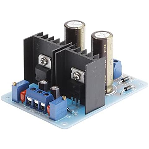 Piteng?LM317 337 Doppio modulo di alimentazione regolabile 1.5-18V AC a 2-25V DC Converter