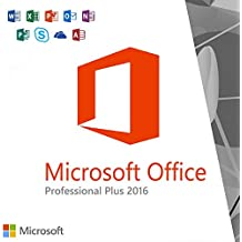 MIcrosoft Office 2016 Professional Plus (Digital delivery only key and download ) Lifetime license for 1PC 1User