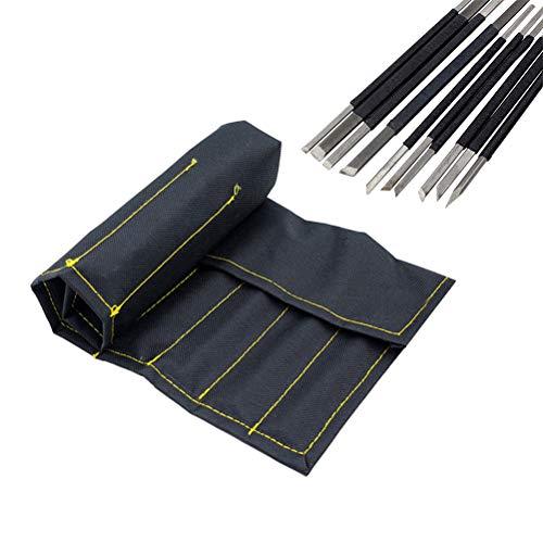 SUPVOX 10 STÜCKE steinschnitzerei Werkzeug kohlenstoffstahl schwarz Linie Set Gravur Werkzeug Set
