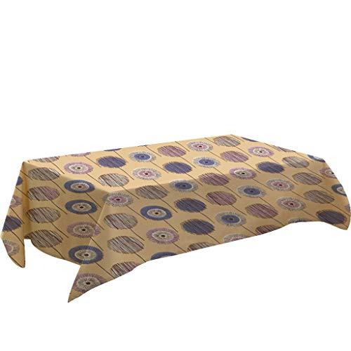 Nncande Karikatur Tischdecke Küche - Hauptdekoration Teppich Picknickdecke Verhindern Sie Staub Tuch -Tischläufer Tischtuch Tischwäsche Tafeltuch Couchtisch Tischdecke - 140x180CM