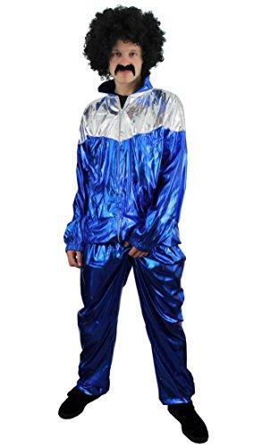 Dress Fancy Kostüm Suit Shell - ILOVEFANCYDRESS I Love Fancy Dress ilfd4506X XL Herren 80des Shell Suit Kostüme (2x große)