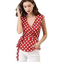 22446d9eb78a47 Suchergebnis auf Amazon.de für: Rote Bluse mit Punkten Polka dots