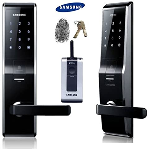 Trace SAMSUNG SHS-H700 nouvelle version de SAMSUNG SHS - 5230 Verrou de porte digital avec touchpad sans clé de sécurité EZON Télécommande 2 clés