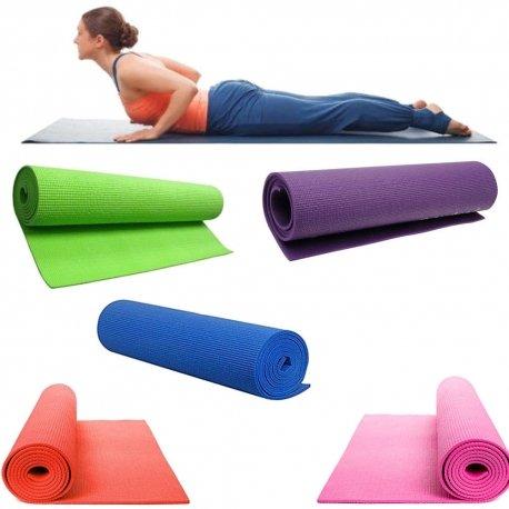 Trade shop traesio- tappetino tappeto yoga addominali aerobica palestra fitness ginnastica pilates
