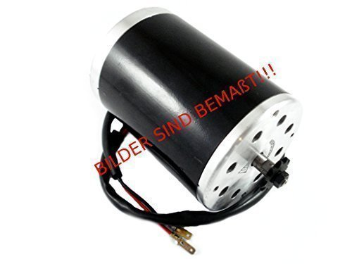 HMParts E Scooter / RC Elektro Motor - 48V - 1000W - 3000RPM - MY1020 (1000 Watt Scooter Motor)